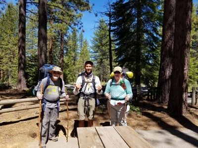 Donner Summit to Paradise Lake (with overnight stop near Peter Grubb Hut)