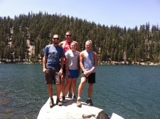 Stand Up Paddleboarding and Hiking Multisport