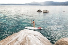 Stand Up Paddleboarding and Mountain Biking Adventure