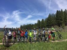 Truckee Single Track Mountain Biking