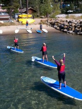 Stand Up Paddleboard and Sail Package