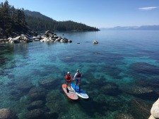 Sand Harbor Stand Up Paddle Board Tour