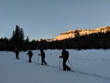 Sunset Snowshoe Adventure