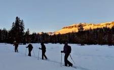 Sunset Snowshoe Tours
